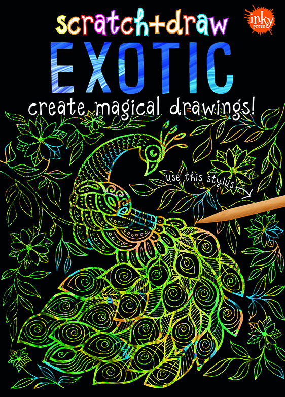 Scratch and Draw Exotic