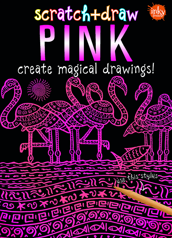 Scratch and Draw Pink