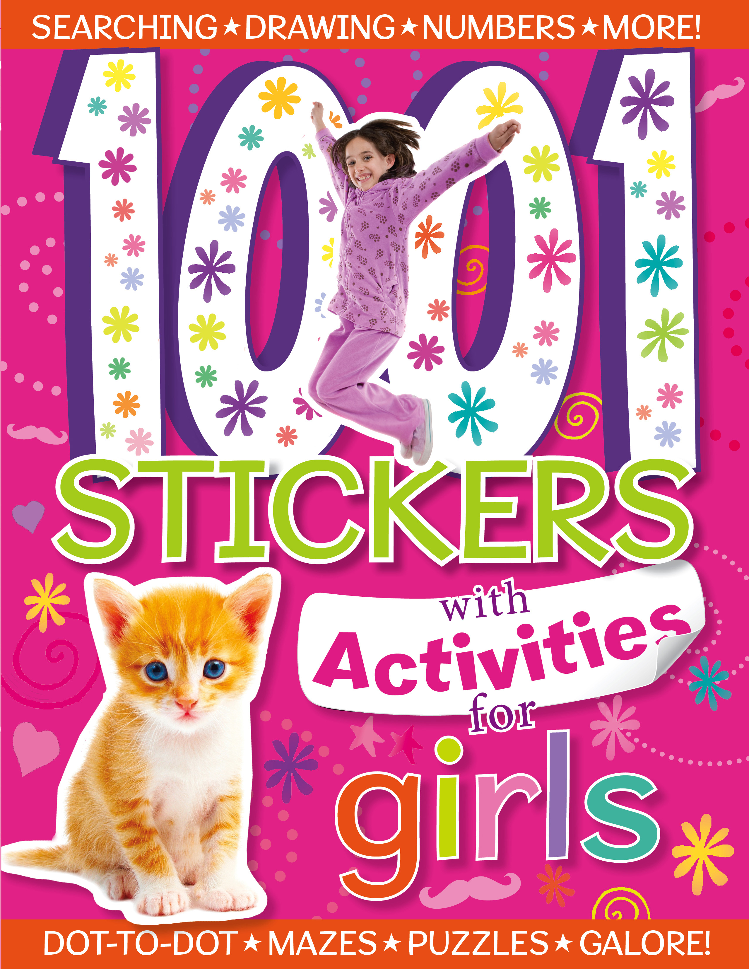 1001 Stickers with Activities for Girls