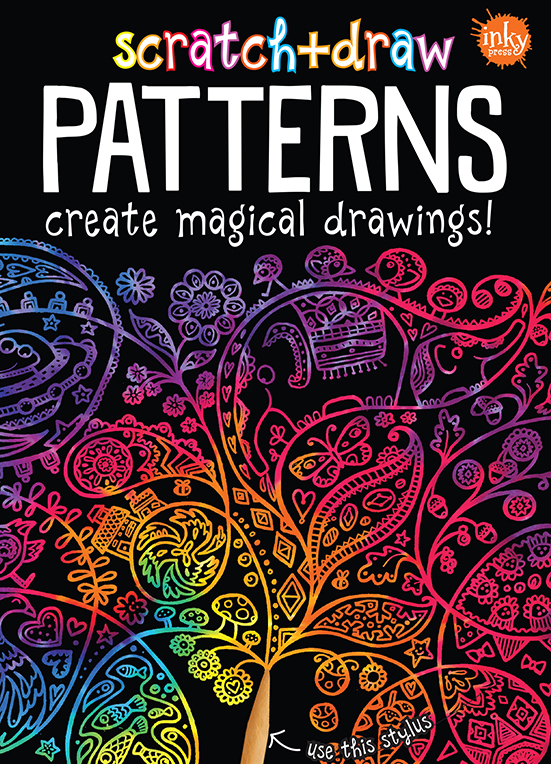 Scratch and Draw Patterns
