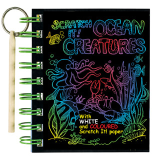 Scratch It! Ocean Creatures