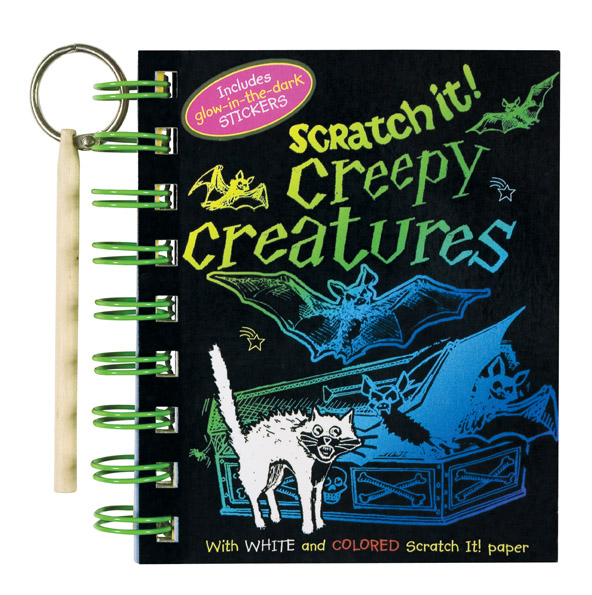 Scratch It! Creepy Creatures