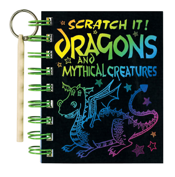 Scratch It! Dragons and Mythical Creatures