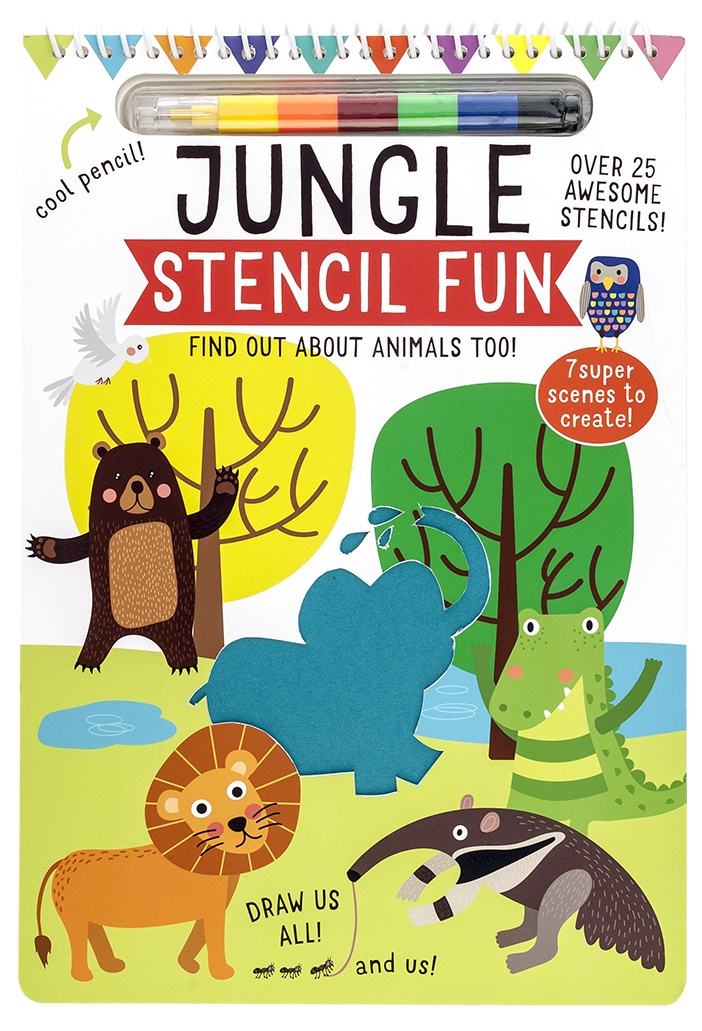 Stencil Fun - Jungle