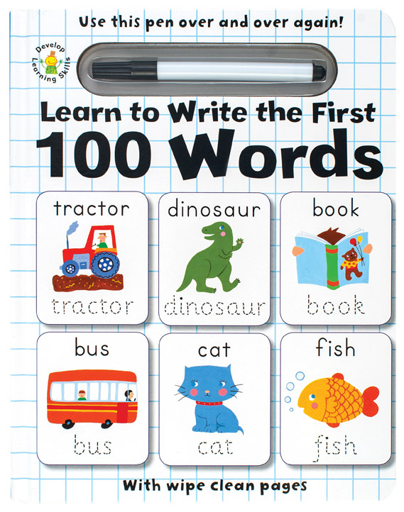 Wipe Clean Learn to Write the First 100 Words