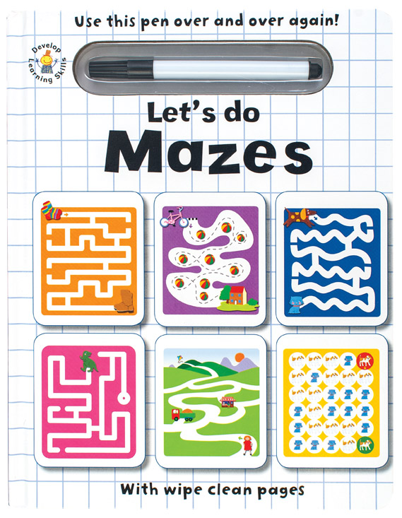 Wipe Clean Let's do Mazes