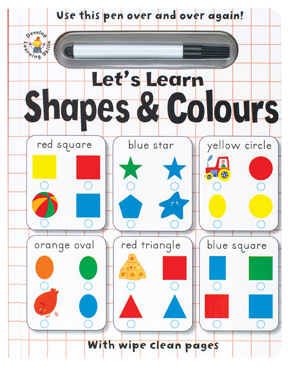 Wipe Clean Let's Learn Shapes and Colours