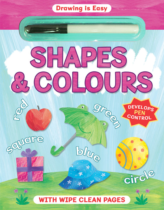 Drawing is Easy Shapes and Colours