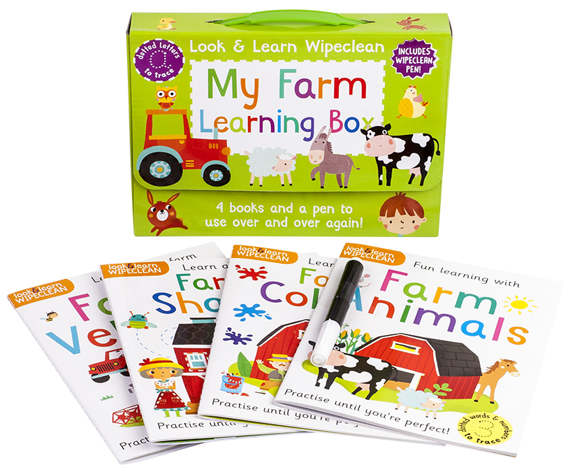 Look & Learn Wipeclean My Farm