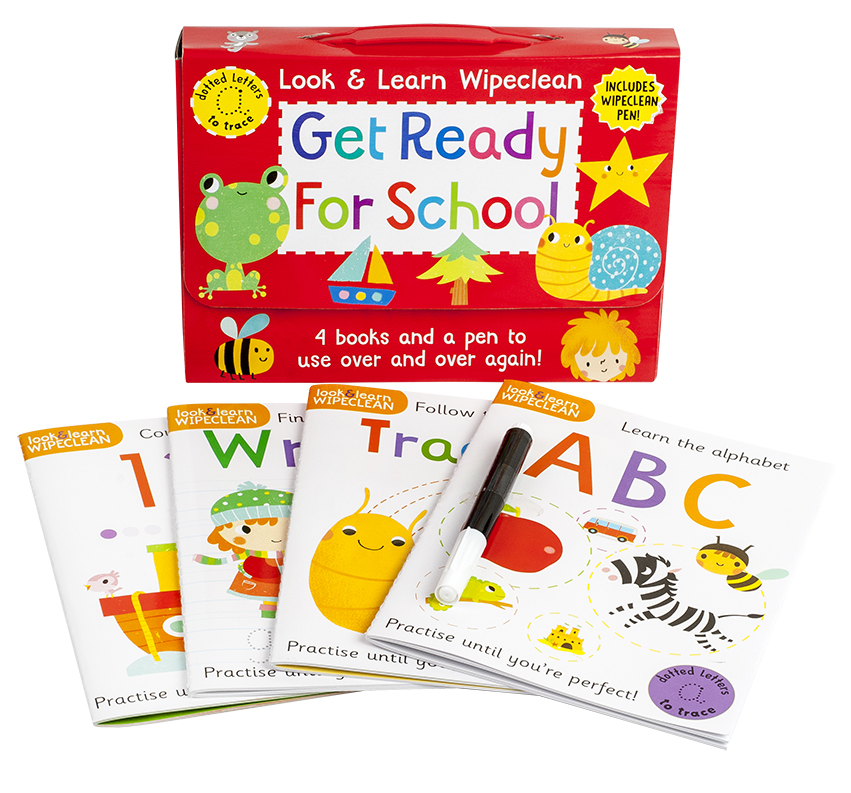 Look & Learn Wipeclean Get Ready For School