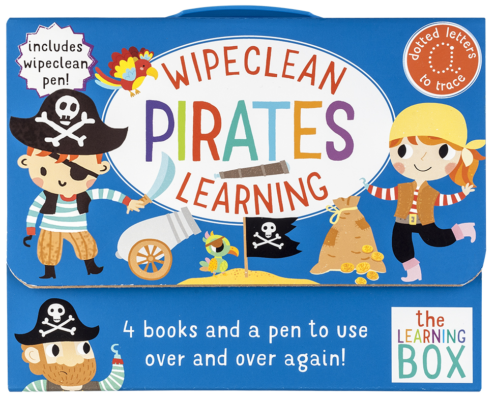 Wipeclean Pirates Learning
