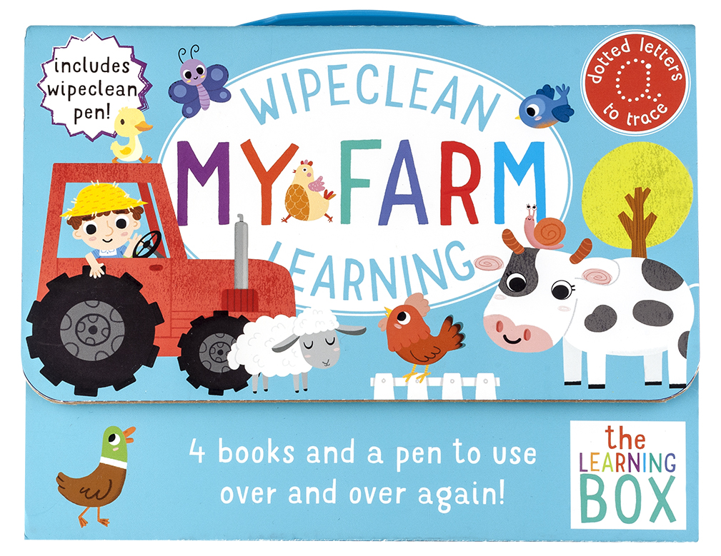 Wipeclean My Farm Learning