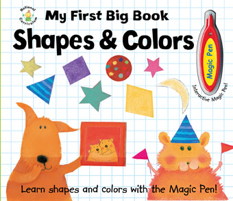 My First Big Book of Shapes and Colours