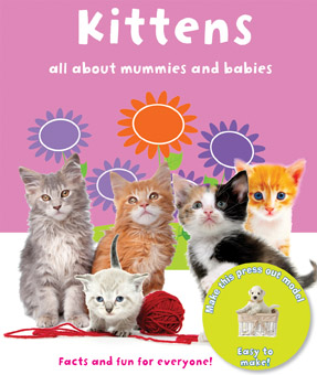 Pocket Press-Outs Kittens