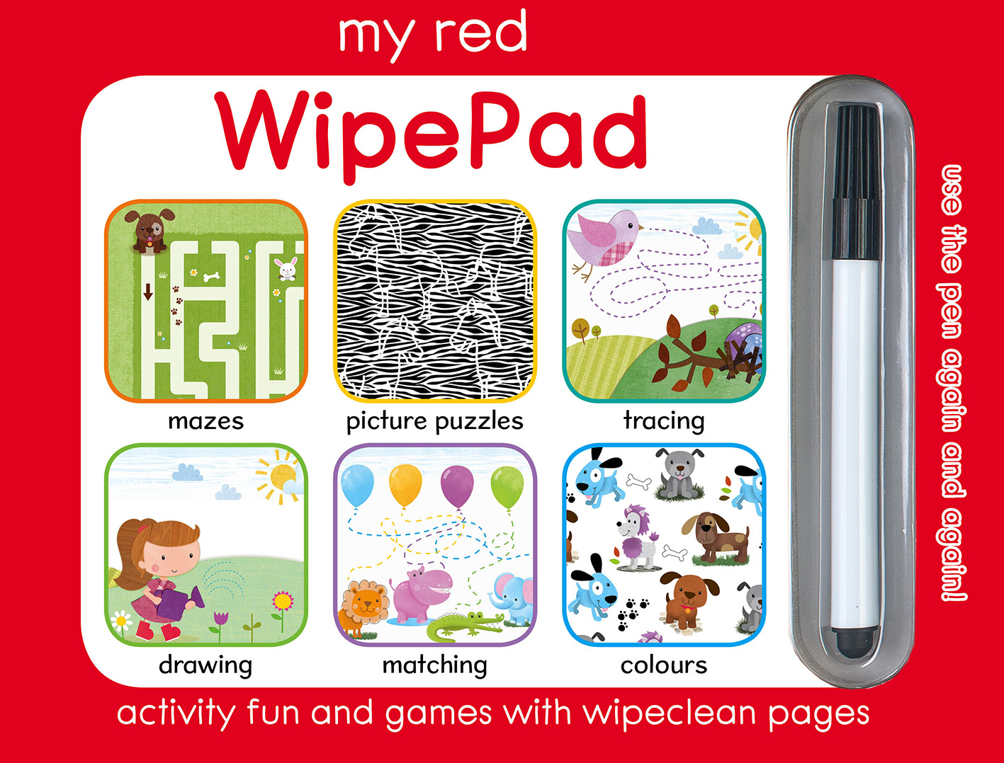 My Red WipePad
