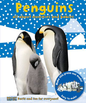 Pocket Press-Outs Penguins